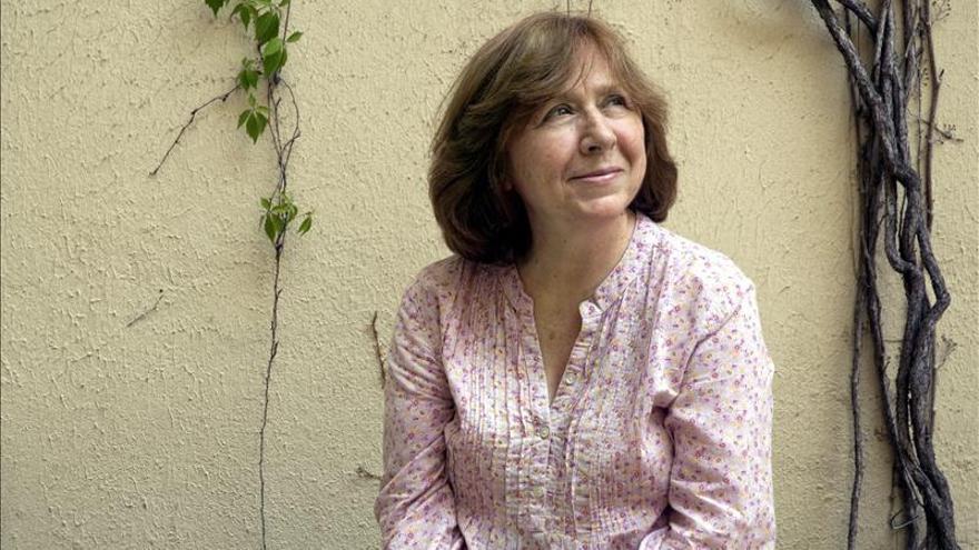 Svetlana Alexiévich asegura que el homo soviéticus no sabe de libertad ni de democracia