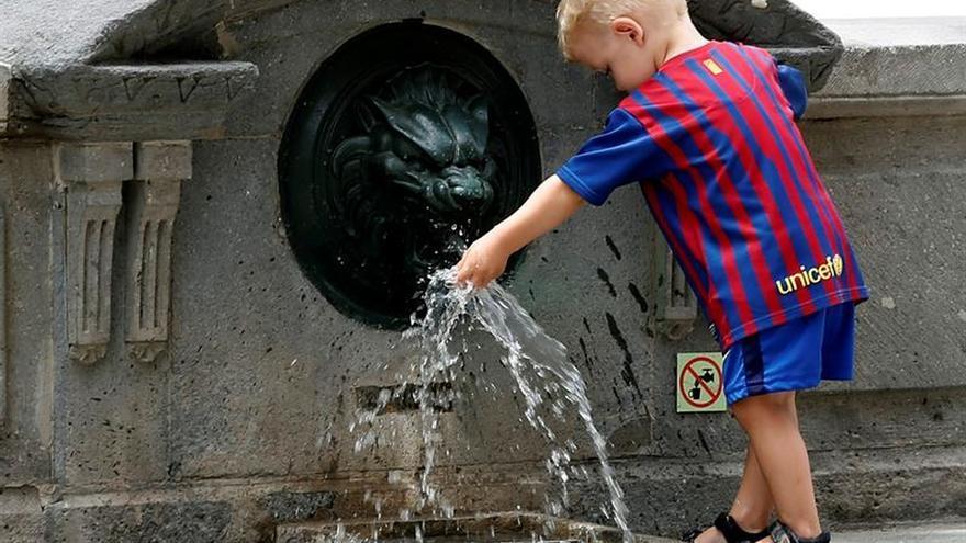 Decaimiento, palidez y ojeras, síntomas de deshidratación en niños