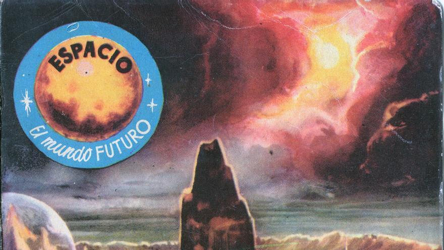 Viaje espaciales, armas de destrucción masiva y extraterrestres con muy malas pulgas eran temas recurrentes en estas novelas (Imagen: Cedida por José Carlos Canalda)