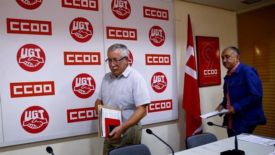 CCOO y UGT convocan movilizaciones el 7 de octubre por el trabajo decente