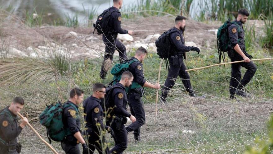 Reanudan la búsqueda de Marta Calvo, con la UME y un escuadrón de caballería