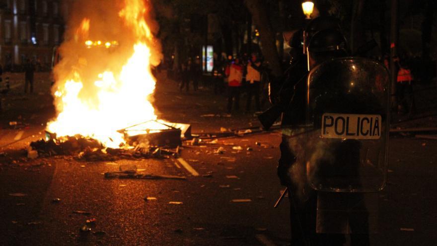 El 25-S rechaza la violencia pero se pregunta si el despliegue policial pudo contribuir a generar ese ambiente