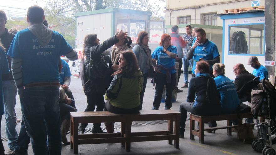 """Trabajadores de Edesa esperan """"con ánimo y esperanza"""" la decisión de Fagor porque siguen pensando que es """"viable"""""""