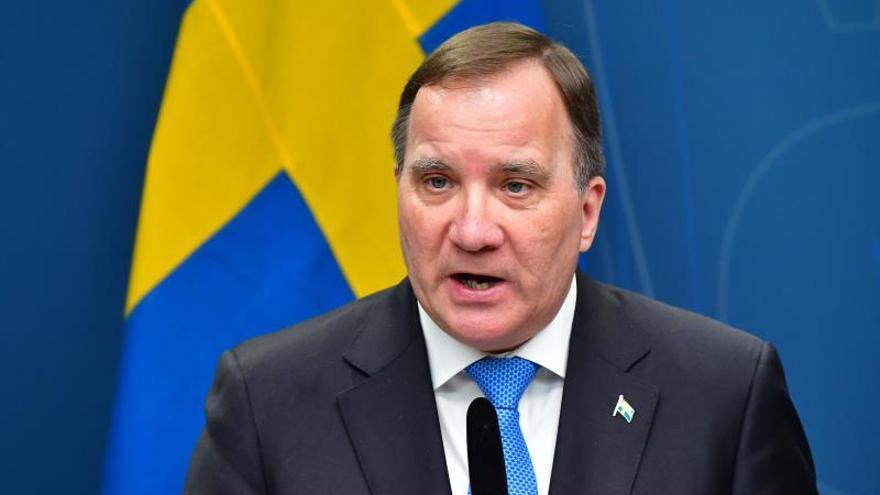 El primer ministro sueco, Stefan Lofven.