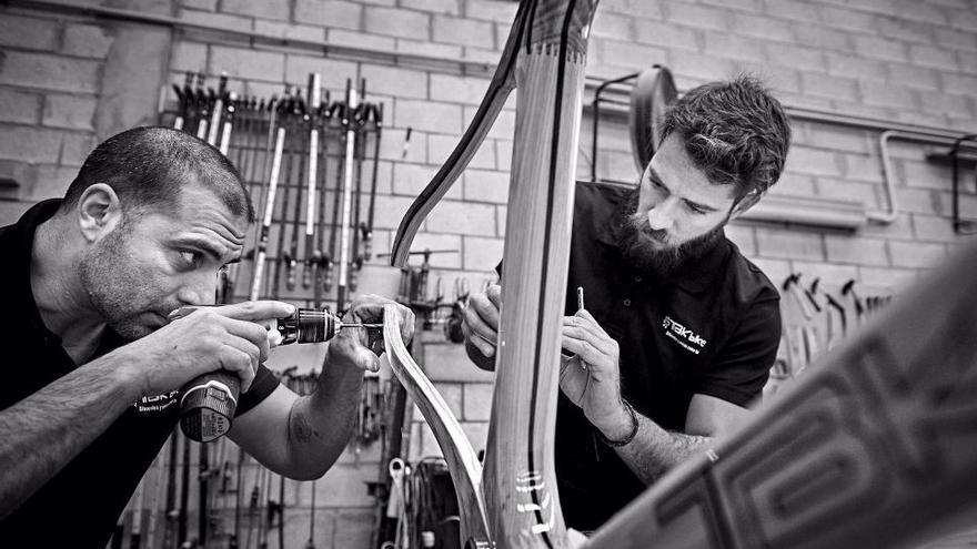 Las bicicletas de TBK Bike son de madera sostenible
