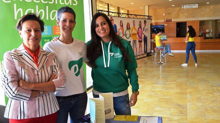 Voluntarias del Teléfono de la Esperanza. (Cedida a CA).
