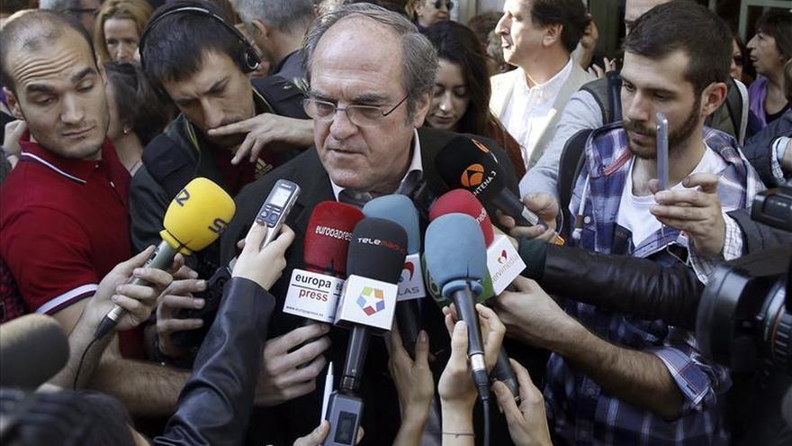 Gabilondo reprocha al PP que no esté representado en la marcha al máximo nivel