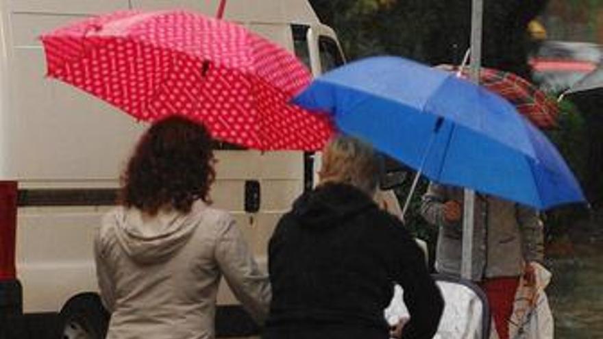 Un total de treinta provincias están hoy en alerta por lluvias y tormentas