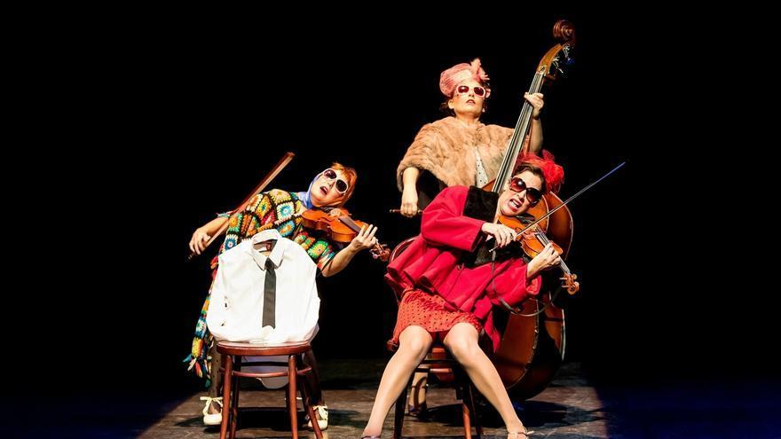 The Funamviolistas desembarca en el Teatro Alhambra con su nuevo espectáculo 'ContraEscena'