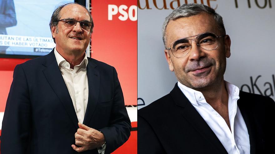 Ángel Gabilondo y Jorge Javier Vázquez en fotos de archivo