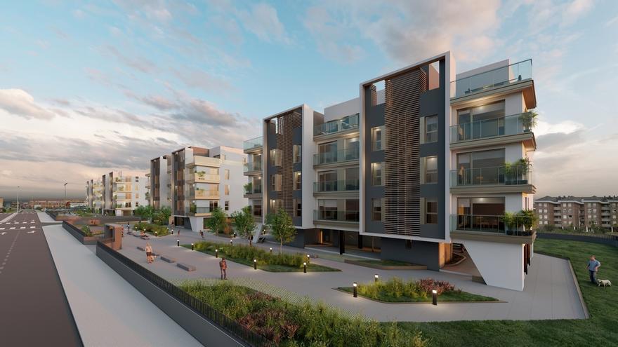 El Ayuntamiento concede licencias para una nueva promoción de viviendas en Nueva Montaña