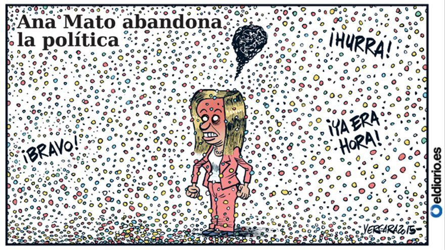 Ana Mato abandona