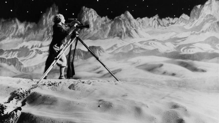 Fotograma de 'La mujer en la Luna', película de Fritz Lang (1929)