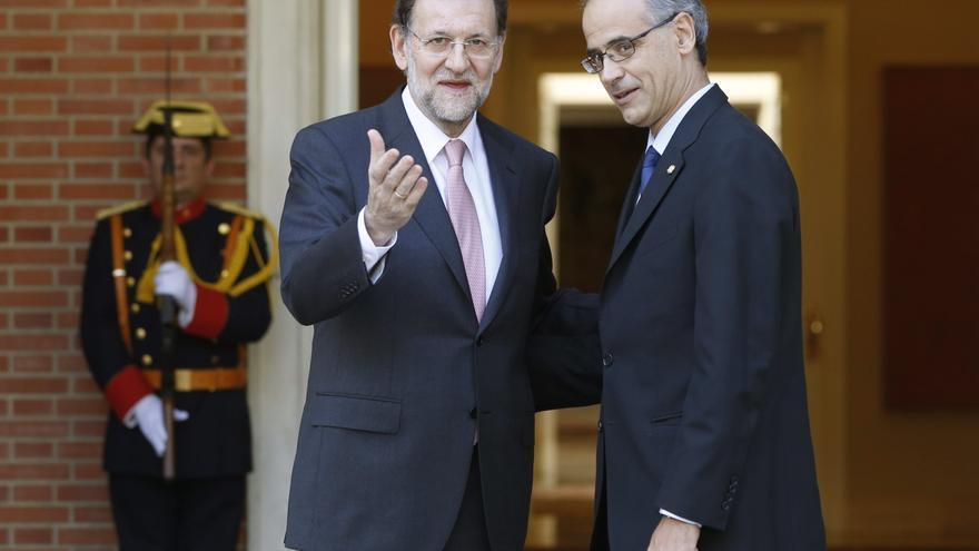 Rajoy repasa con el primer ministro andorrano las reformas ante la crisis