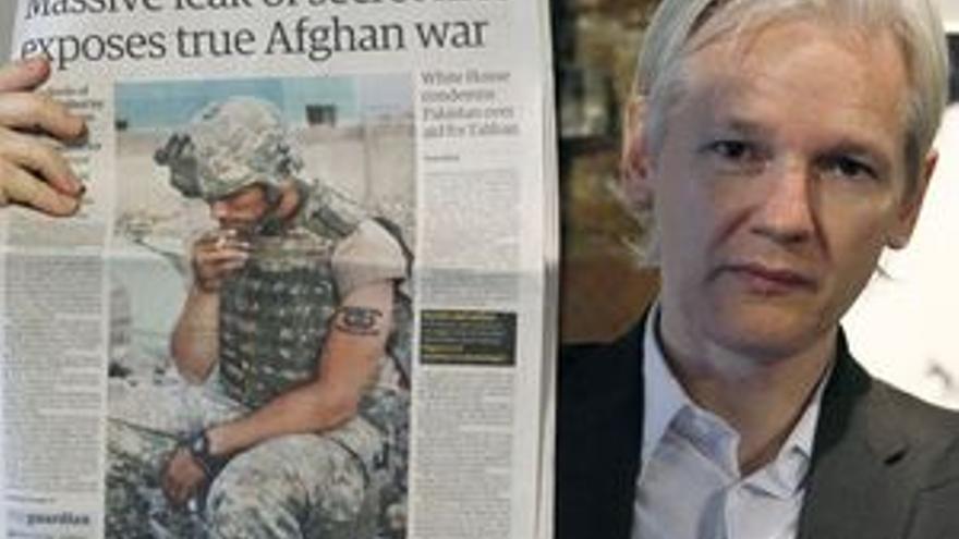 Julian Assange, fundador de Wikileaks. (REUTERS)