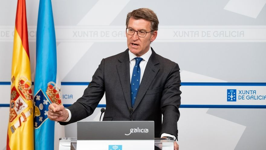 """Feijóo atribuye la victoria de Sánchez a una """"estrategia"""" común con Vox: """"Sabían lo que hacían"""""""