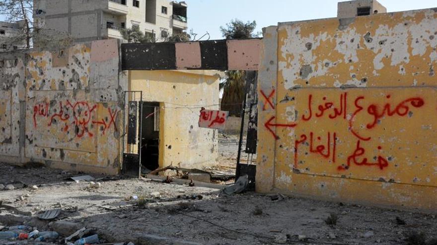 Al Raqa, vetada a los civiles por las minas dejadas por el Estado Islámico
