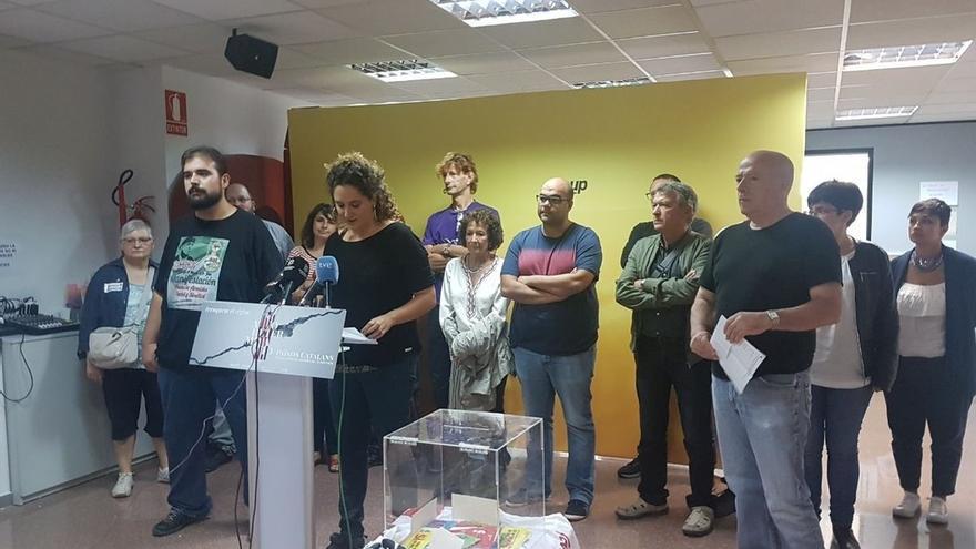 """La CUP ve """"poca habilidad"""" de resolver el conflicto con Cataluña en los registros policiales"""