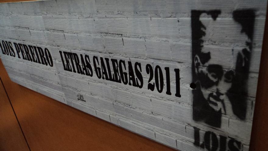 Exposición sobre Lois Pereiro, en 2011