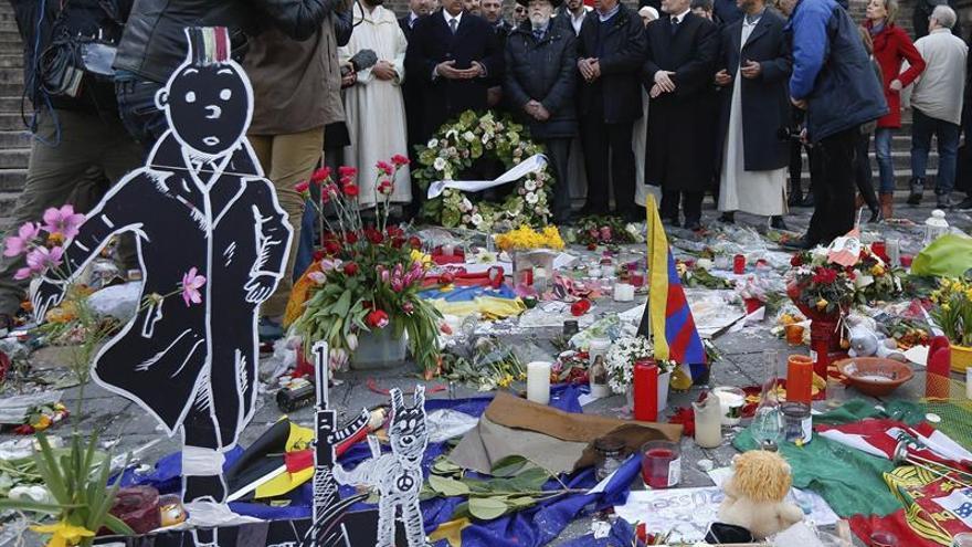 Sospechoso terrorista participa en la reconstrucción del atentado de Maelbeek