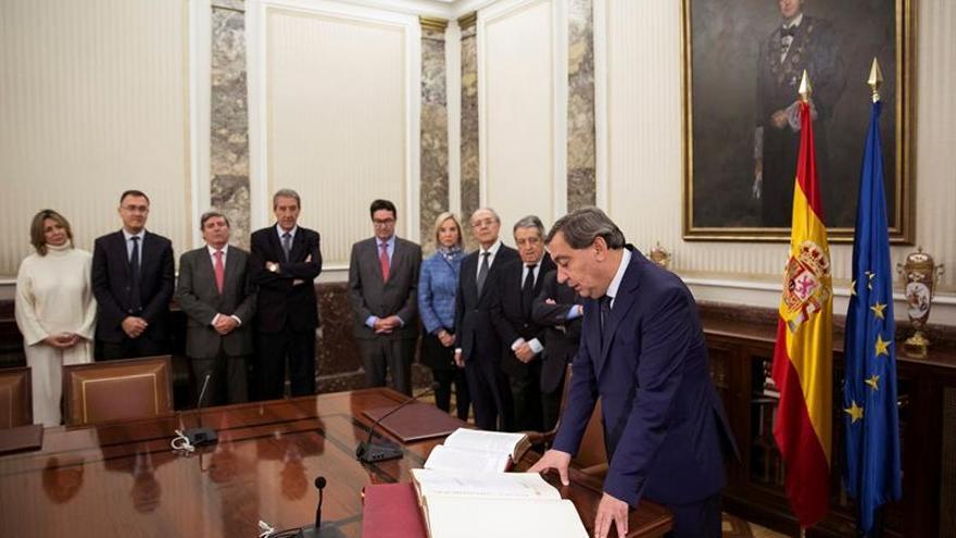 Sánchez Melgar aterriza en la Fiscalía del Estado en su primer Consejo Fiscal