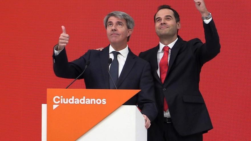 Ángel Garrido, en su comparecencia como fichaje de Ciudadanos