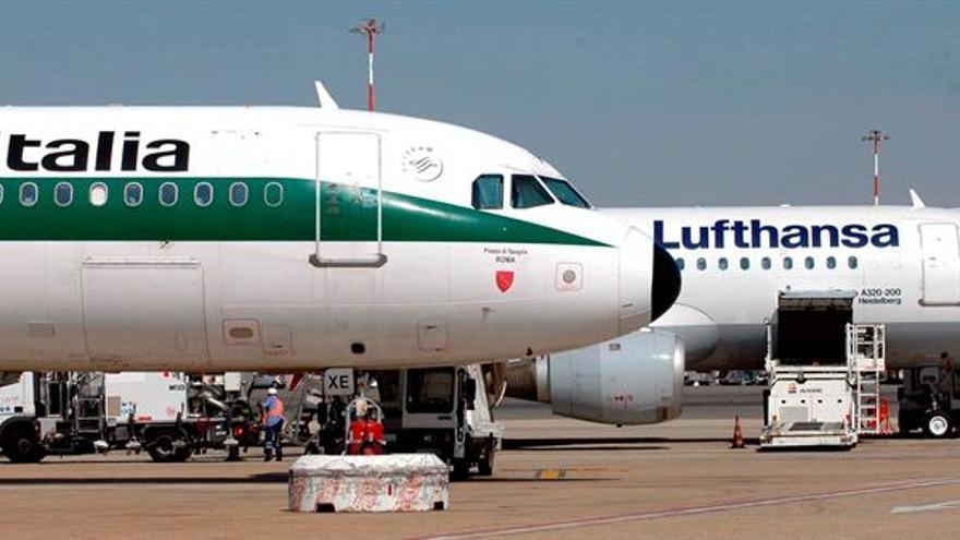 La compañía Alitalia cancela 220 vuelos por la huelga de un sindicato