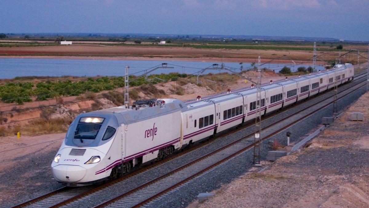 Un tren de Alta Velocidad.