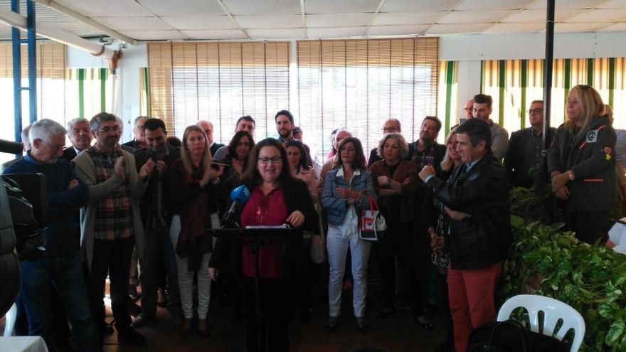 La parlamentaria andaluza Carmen Prieto deja Ciudadanos y pedirá su paso al grupo de no adscritos