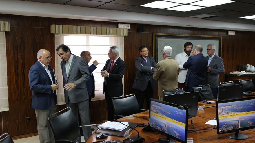 Consejo de administración de la Autoridad Portuaria de Las Palmas antes de su comienzo