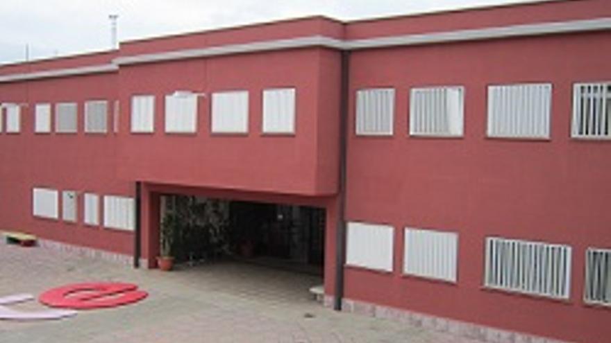 Entrada principal de la Escuela de Arte Manolo Blahnik.