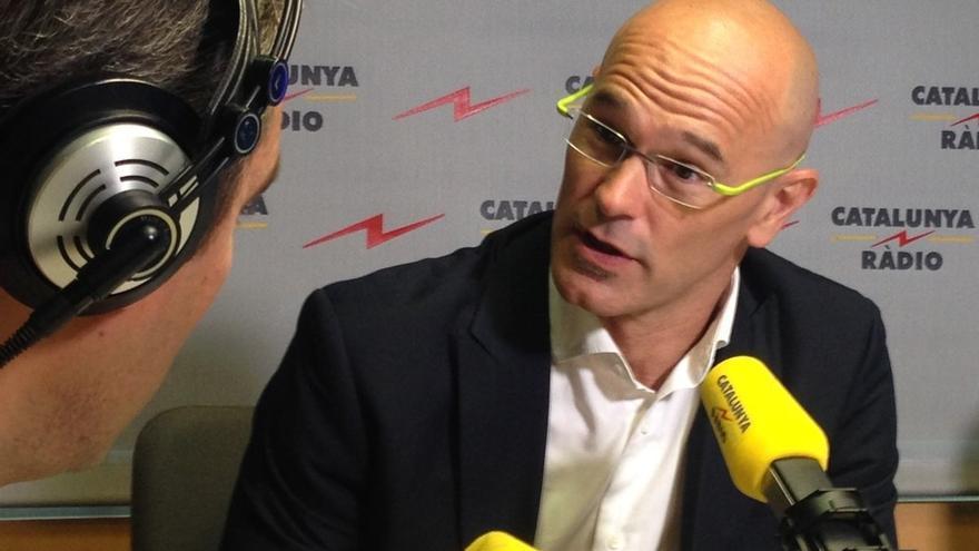 """Romeva defiende que la Diada llenará """"de legitimidad"""" el proceso independentista"""