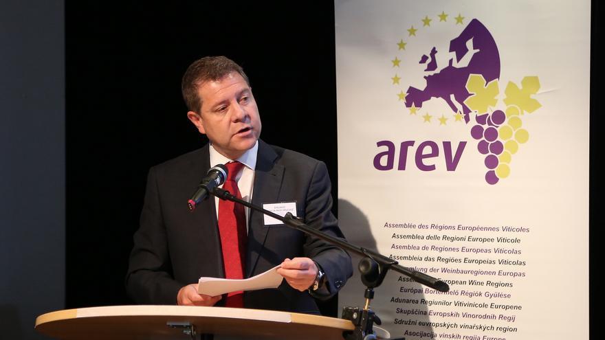 García-Page, reelegido presidente de la Asamblea de Regiones Europeas Vitícolas