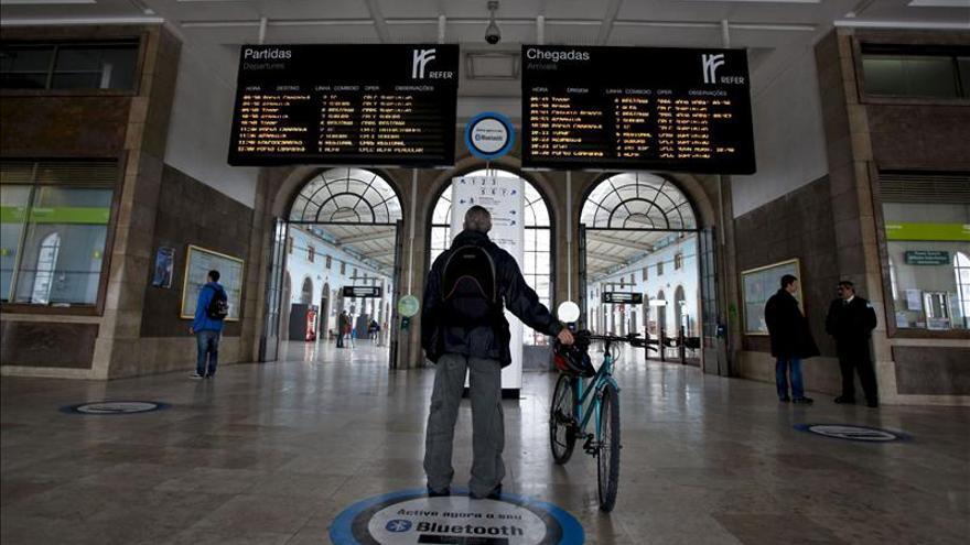 Una huelga paraliza la mayoría de los servicios de trenes en Portugal