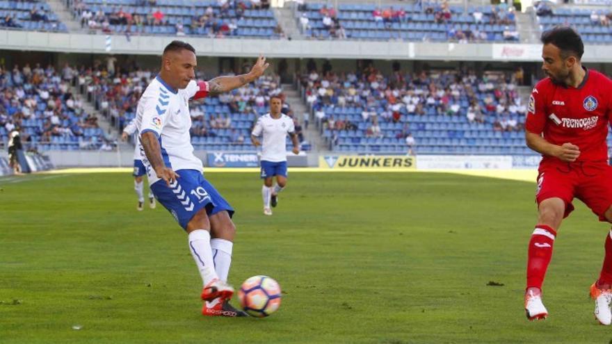 El jugador del CD Tenerife, Suso Santana.