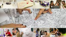 Imágenes del primer taller de producción de Moratalaz Experimenta