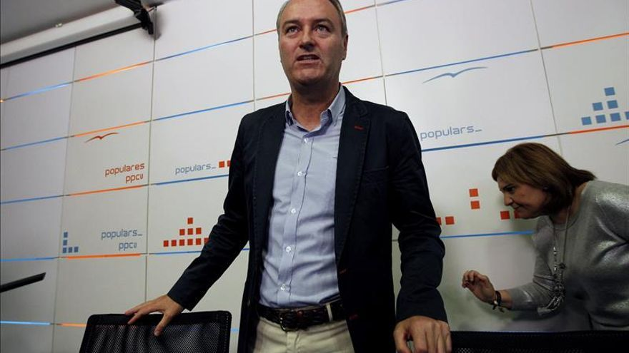 """Fabra será presidente del PPCV hasta enero y pide """"resetear"""" el partido"""