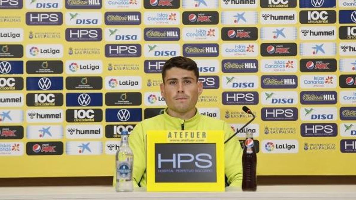 Sergio Ruiz, en rueda de prensa