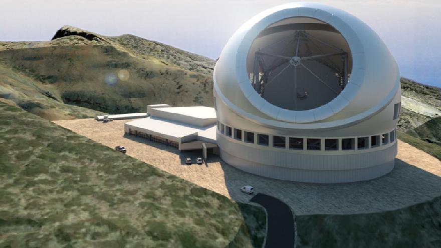 Resultado de imagen de El Parlamento apoya que el Telescopio de Treinta Metros se instale en La Palma