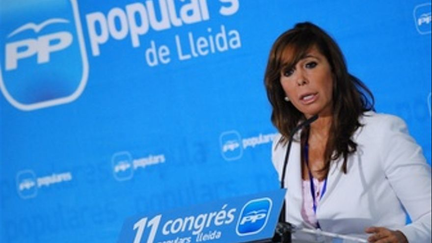 La Líder Del PP Catalán Alicia Sánchez-Camacho
