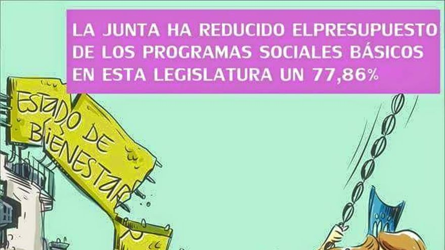 Viñeta Servicios Sociales por Iñaki Tovar y Frenchy