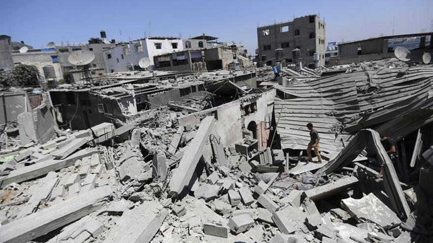 La Fuerza Aérea israelí ataca cuatro posiciones en Gaza tras el disparo de un cohete