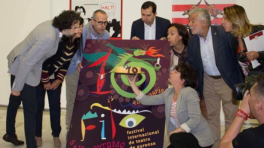Celebración del décimo aniversario del FITO en 2017
