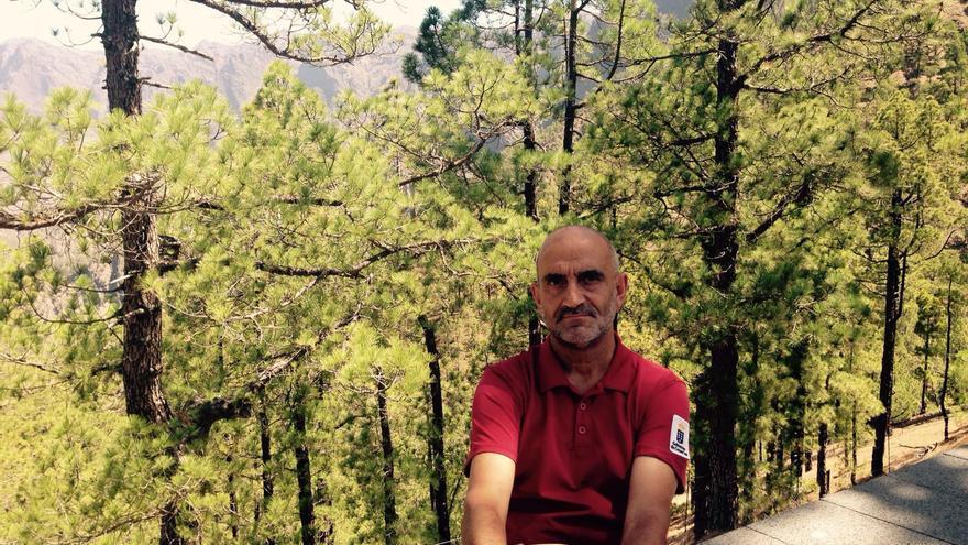 Ángel Palomares es director del Parque Nacional de la Caldera de Taburiente.