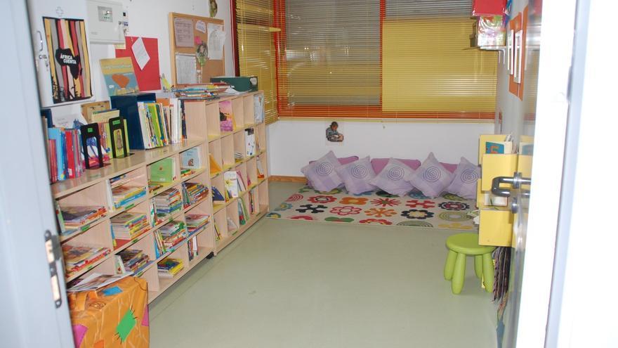 Biblioteca de la Escuela Infantil Patas Arriba, de Rivas. / www.eipatasarriba.es