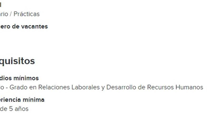 infojobs busqueda avanzada: