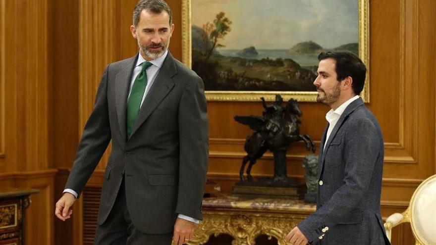 El Rey continúa con Garzón su segunda ronda de consultas de esta legislatura