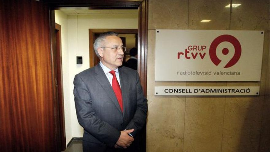 Miquel Domínguez, teniente de alcalde del Ayuntamiento de Valencia y expresidente del Consejo de admnistración de RTVV.
