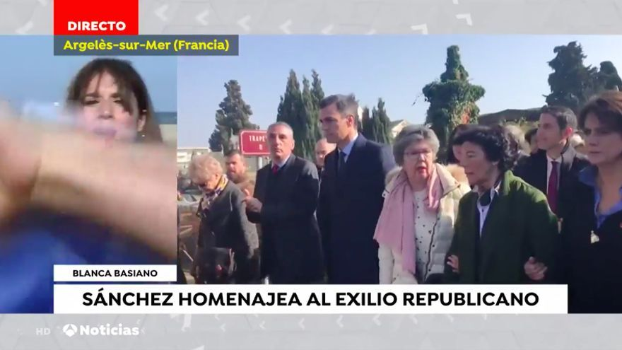 Independentistas vuelven a boicotear a una reportera de Antena 3 en directo