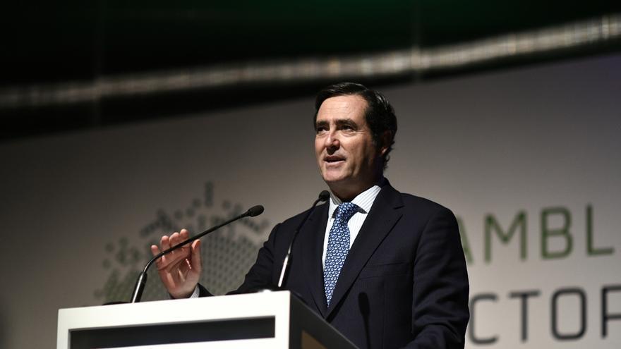 """Garamendi (CEOE) apela a """"no pasarse de frenada"""" y pide al Estado """"rigor, eficacia y eficiencia"""" en los PGE"""
